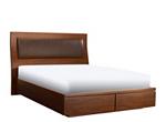 Shelby King Storage Platform Bed