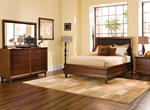 Vista 4-pc. Queen Platform-Look Bedroom Set