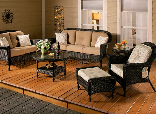 Outdoor Patio Furniture | Dining Tables, Sectional Sofas, Fire ...