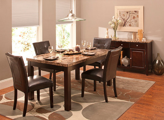 Bedrock Dining Room Furniture Collection