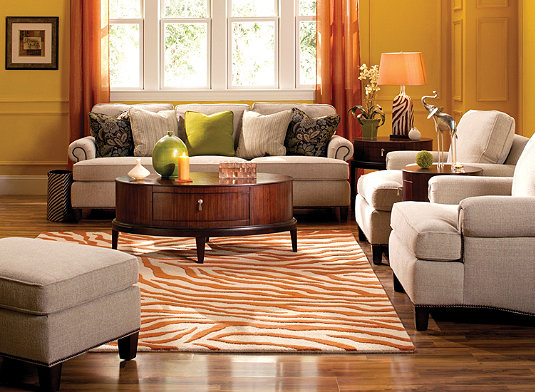 Cassandra Living Room Furniture Collection