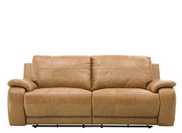Alden Leather Power-Reclining Sofa