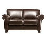 Bellini Leather Loveseat