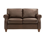 Dylan Leather Loveseat