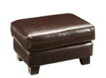 Bellini Leather Ottoman
