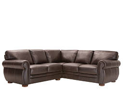 Marsala 2-pc. Leather Sectional Sofa