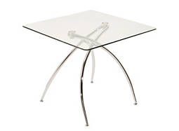 Brandi Glass Counter-Height Dining Table