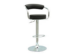 Melina Adjustable-Height Swivel Bar Stool