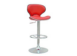 Selma Adjustable-Height Swivel Bar Stool