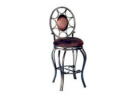 Jasmine Microfiber Swivel Bar Stool