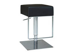 Julia Adjustable-Height Swivel Bar Stool