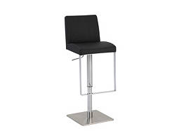 Danielle Adjustable-Height Swivel Bar Stool
