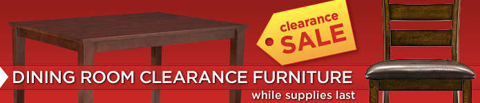 Dining Rooms Clearance