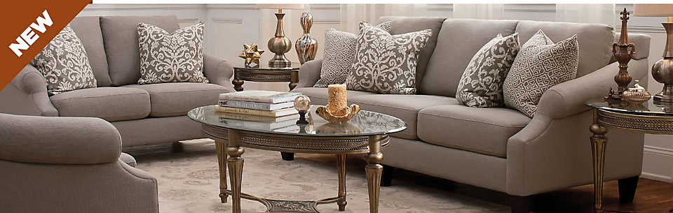 Living Room Furniture Sectionals Sofas Recliners Coffee Tables Ra