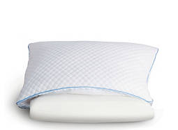 Half Memory Foam and Half Fiber Pillow