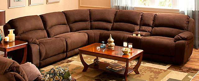 Cindy Crawford Home 174 Mackenzie Casual Microfiber Living
