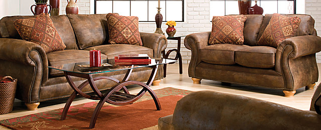 Canyon Ridge Casual Microfiber Living Room Collection