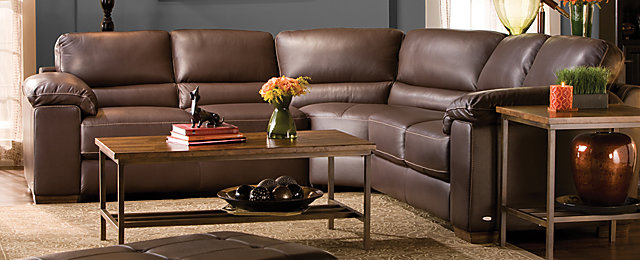 Cindy Crawford Home Maglie Contemporary Leather Living