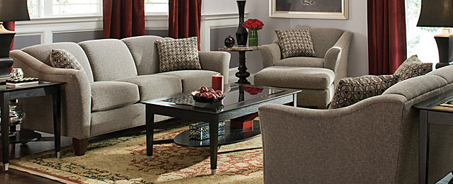 meyer contemporary chenille living room collection design tips