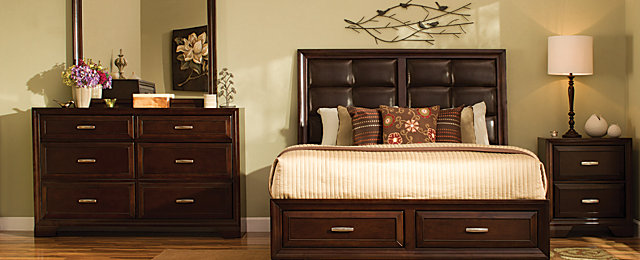 Levine Transitionall Bedroom Collection