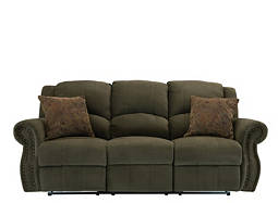 Delaney Microfiber Reclining Sofa