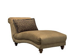 Curtis Chenille Chaise Lounge