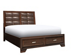Levine King Storage Platform Bed