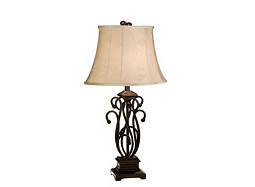 Multi Scroll Table Lamp