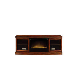 "Wickford 67"" TV Console w/ 25"" Electric Fireplace"