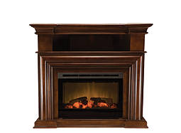 "Montgomery 47"" Corner TV Console w/ 25"" Electric Fireplace"