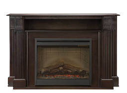 "Langley 55"" TV Console w/ 26"" Electric Fireplace"
