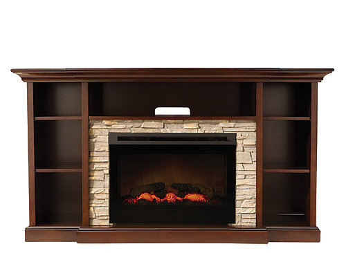 Merrick 65 Quot Tv Console W 25 Quot Electric Fireplace
