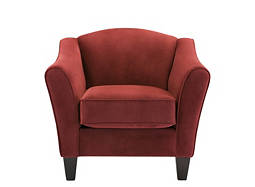 Scarlet Microfiber Chair