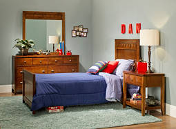 Shadow 4-pc.  Twin XL Bedroom Set