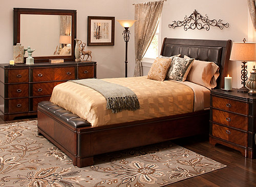 Dundee 4 Pc Queen Bedroom Set Bedroom Sets Raymour And Flanigan Furniture