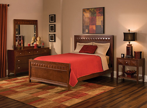 shadow 4 pc queen bedroom set bedroom sets raymour