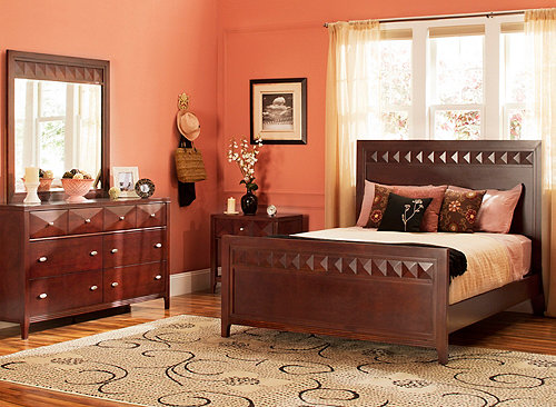 Shadow 4 Pc Queen Bedroom Set Bedroom Sets Raymour And Flanigan Furniture Mattresses