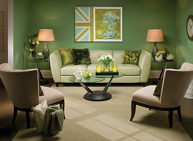 Color Story Decorating With Green Monochromatic