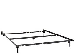 Twin/Full/Queen Bed Frame w/ Glides