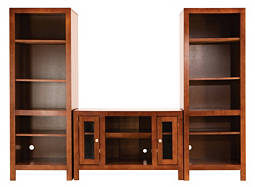 "Del Mar 3-pc. Wall Unit w/ 42"" TV Console"