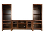 "Del Mar 3-pc. Wall Unit w/ 52"" TV Console"