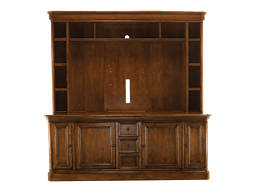 "Tuscano 2-pc. Entertainment Center w/ 76.5"" TV Console"