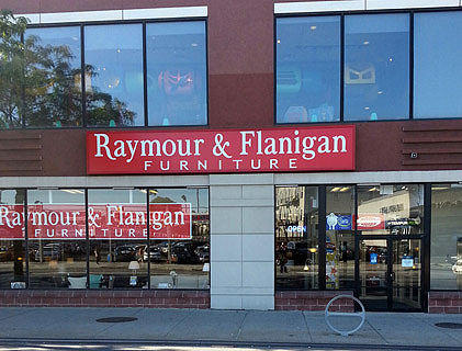 Raymour And Flanigan Queens Long Island City Store New York Furniture And Mattress Stores