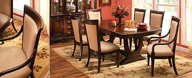 Dining room furniture that fits think big raymour and - Dining room furniture buffalo ny ...