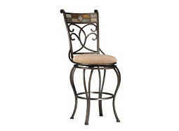 Pompei Swivel Counter Stool