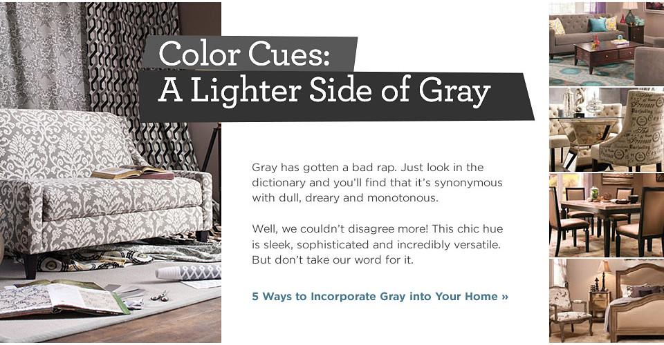 The Lighter Side of Gray