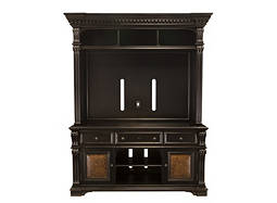 "Telluride 2-pc. Entertainment Center w/ 71"" TV Console and Lighting"