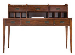 Danforth Writing Desk and Hutch