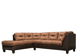 McCoy 2-pc. Microfiber Sectional Sofa