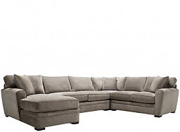 Artemis II 4-pc. Microfiber Sectional Sofa